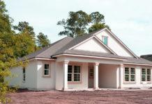 photo d'une maison en construction