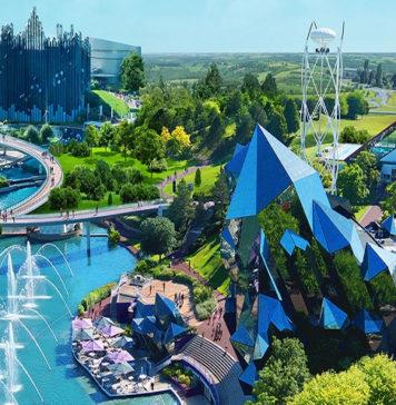photo du parc d'attractions le futuroscope de poitiers