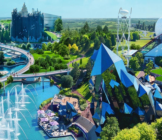 photo du parc d'attractions le futuroscope de poitiers